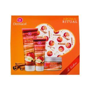 Dermacol Aroma Ritual Apple & Cinnamon (Duššigeel, naistele, 250ml) KOMPLEKT!