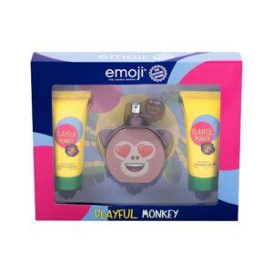 Emoji Playful Monkey (Parfüüm, lastele, 50ml) KOMPLEKT!