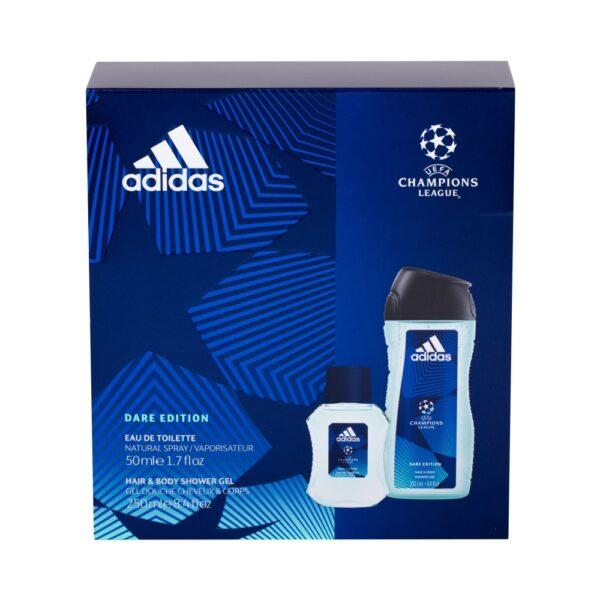 Adidas UEFA Champions League Dare Edition (Tualettvesi, meestele, 50ml) KOMPLEKT!