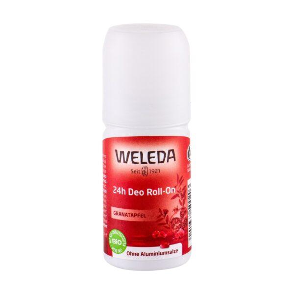 Weleda Pomegranate 24h Roll-On (Deodorant, naistele, 50ml)