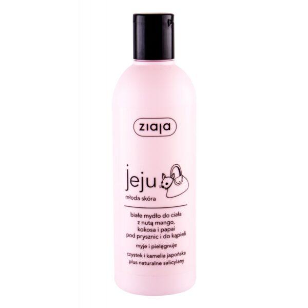 Ziaja Jeju White Shower Gel (Duššigeel, naistele, 300ml)