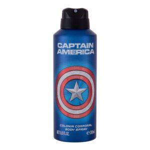 Marvel Captain America (Deodorant, lastele, 200ml)