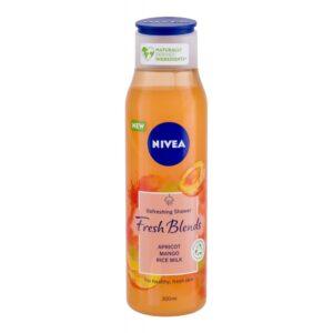 Nivea Fresh Blends Apricot (Duššigeel, naistele, 300ml)