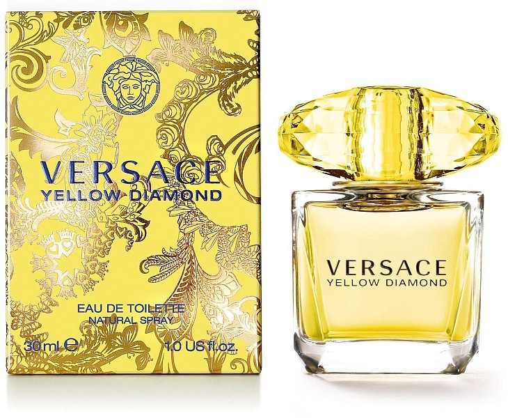 Versace Yellow Diamond (Tualettvesi naistele, 5ml)