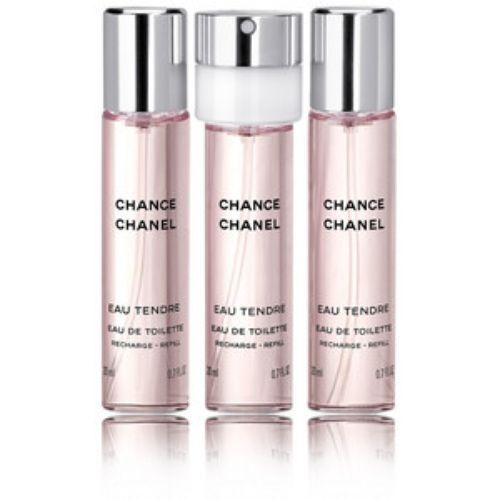 Chanel Chance Eau Tendre (Tualettvesi naistele, 3x20ml)  NB! Ainult täide