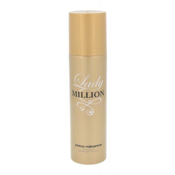 Paco Rabanne Lady Million (Deodorant, naistele, 150ml)