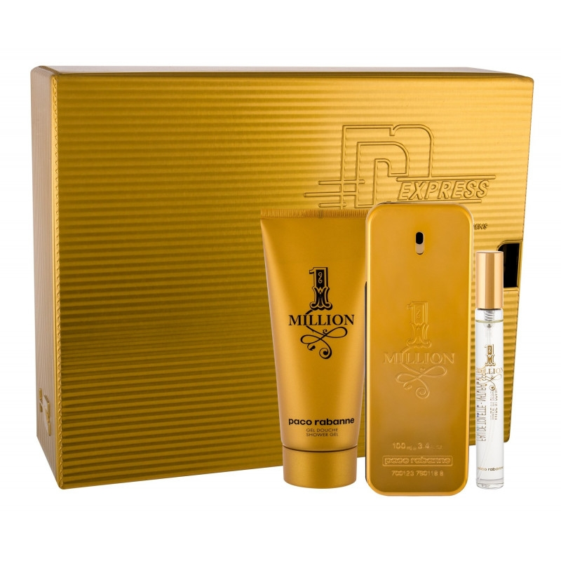 Paco Rabanne 1 Million (Tualettvesi meestele, 100ml)  Komplekt