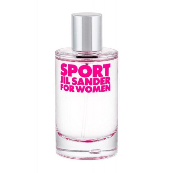 Jil Sander Sport For Women (Tualettvesi, naistele, 50ml)