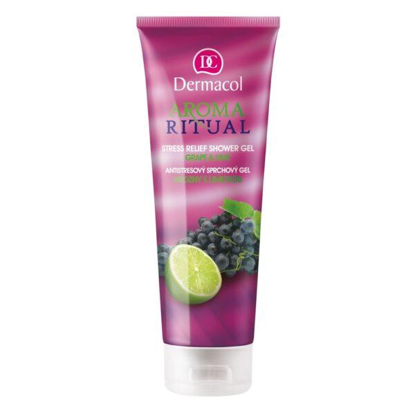 Dermacol Aroma Ritual Grape & Lime (Duššigeel, naistele, 250ml)