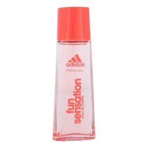 Adidas Fun Sensation For Women (Tualettvesi, naistele, 50ml)