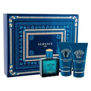 Versace Eros (Tualettvesi, meestele, 50ml) KOMPLEKT!