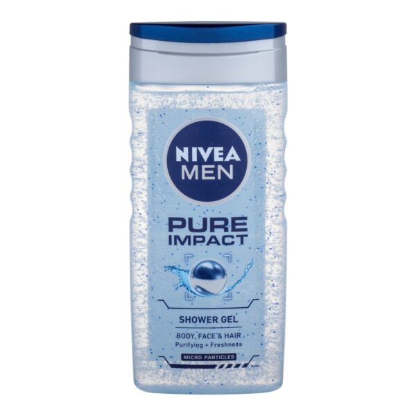 Nivea Men Pure Impact (Duššigeel, meestele, 250ml)