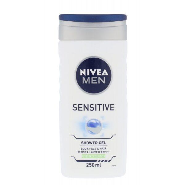 Nivea Men Sensitive (Duššigeel, meestele, 250ml)