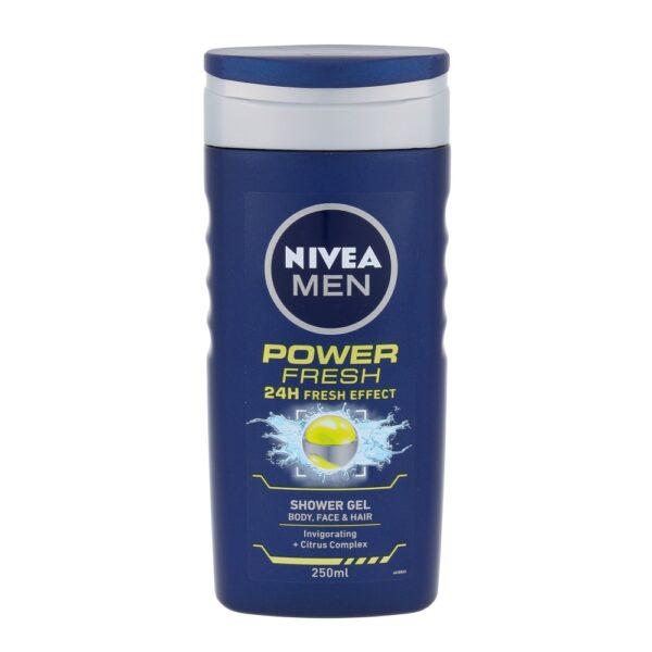 Nivea Men Power Refresh (Duššigeel, meestele, 250ml)