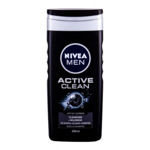 Nivea Men Active Clean (Duššigeel, meestele, 250ml)