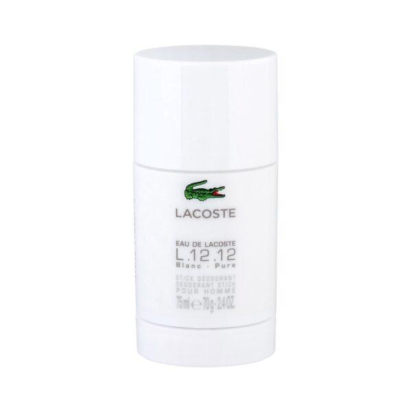 Lacoste Eau de Lacoste L.12.12 Blanc (Deodorant, meestele, 75ml)
