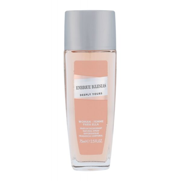 Enrique Iglesias Deeply Yours Woman (Deodorant, naistele, 75ml)