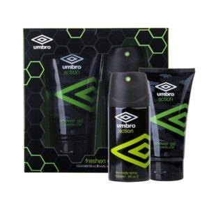 UMBRO Action (Deodorant, meestele, 150ml) KOMPLEKT!