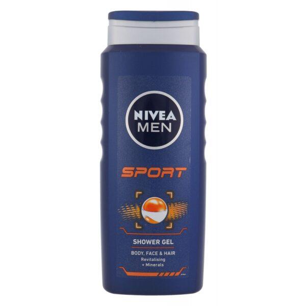 Nivea Men Sport (Duššigeel, meestele, 500ml)