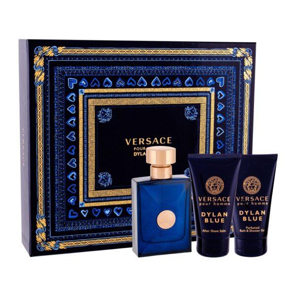 Versace Pour Homme Dylan Blue (Tualettvesi, meestele, 50ml) KOMPLEKT!