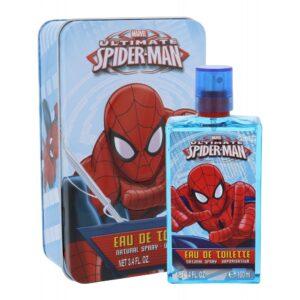 Marvel Ultimate Spiderman (Tualettvesi, lastele, 100ml) KOMPLEKT!