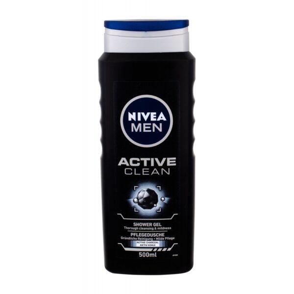 Nivea Men Active Clean (Duššigeel, meestele, 500ml)