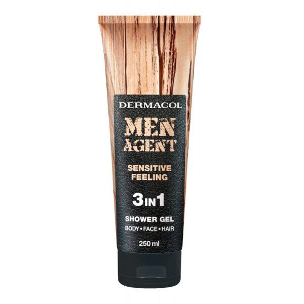 Dermacol Men Agent Sensitive Feeling (Duššigeel, meestele, 250ml)