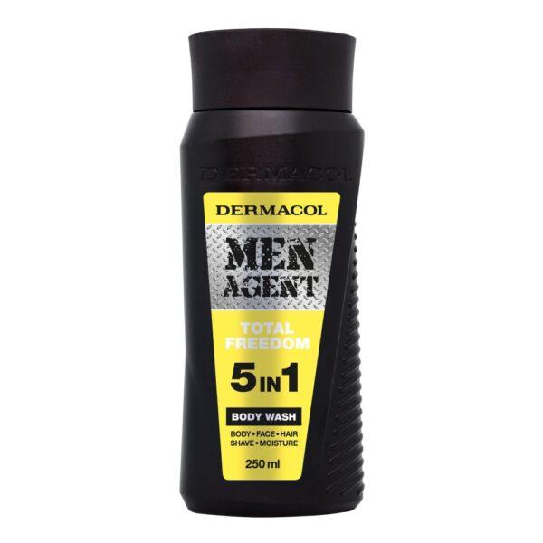 Dermacol Men Agent Total Freedom (Duššigeel, meestele, 250ml)
