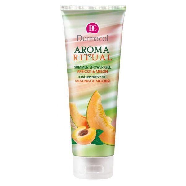 Dermacol Aroma Ritual Apricot & Melon (Duššigeel, naistele, 250ml)