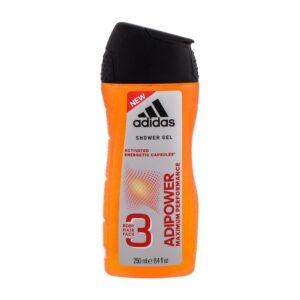 Adidas AdiPower (Duššigeel, meestele, 250ml)