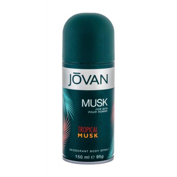 Jovan Tropical Musk (Deodorant, meestele, 150ml)