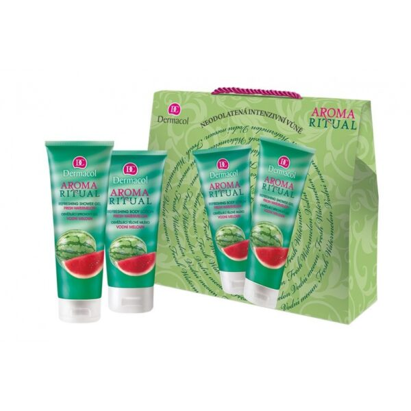 Dermacol Aroma Ritual Fresh Watermelon (Duššigeel, naistele, 250ml) KOMPLEKT!
