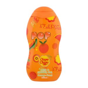 Chupa Chups Bath & Shower Orange Scent (Duššigeel, lastele, 400ml)