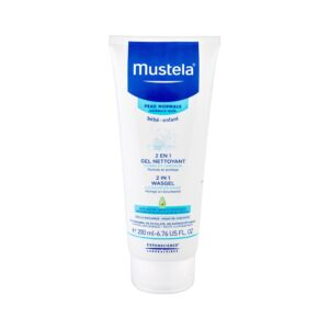 Mustela Bébé 2 in 1 Shower Gel (Duššigeel, lastele, 200ml)