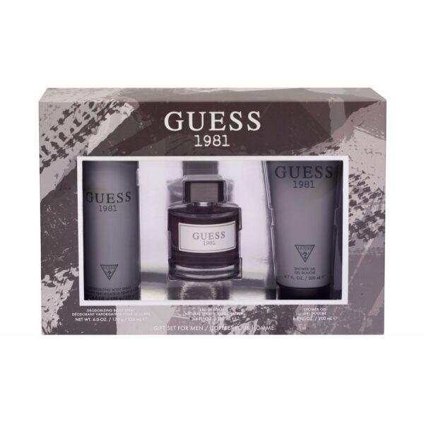 GUESS Guess 1981 (Tualettvesi, meestele, 100ml) KOMPLEKT!