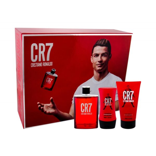 Cristiano Ronaldo CR7 (Tualettvesi, meestele, 100ml) KOMPLEKT!