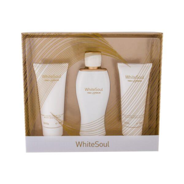 Ted Lapidus White Soul (Parfüüm, naistele, 100ml) KOMPLEKT!
