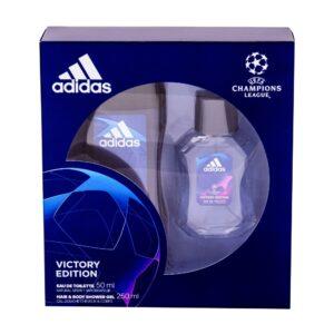 Adidas UEFA Champions League Victory Edition (Tualettvesi, meestele, 50ml) KOMPLEKT!