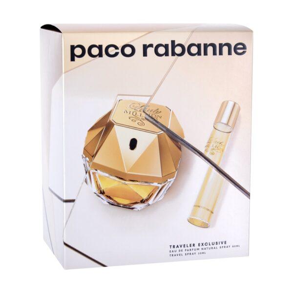 Paco Rabanne Lady Million (Parfüüm, naistele, 80ml) KOMPLEKT!