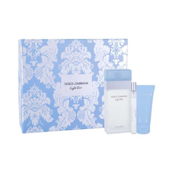 Dolce&Gabbana Light Blue (Tualettvesi, naistele, 100ml) KOMPLEKT!