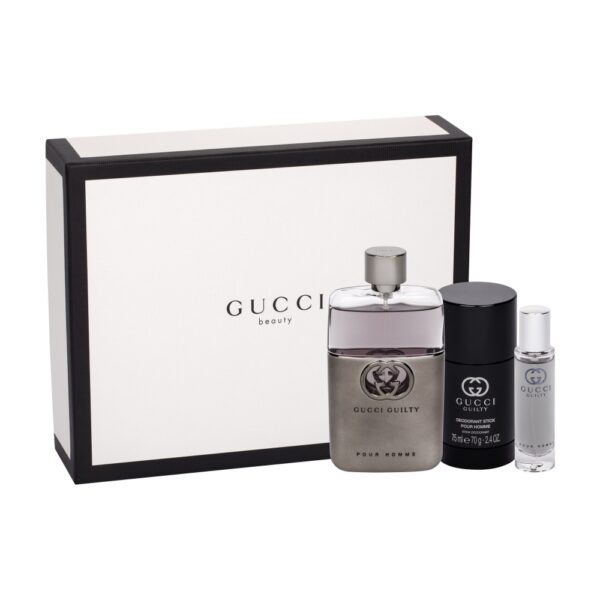 Gucci Guilty Pour Homme (Tualettvesi, meestele, 90ml) KOMPLEKT!