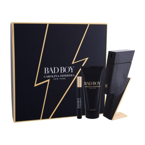 Carolina Herrera Bad Boy (Tualettvesi, meestele, 100ml) KOMPLEKT!