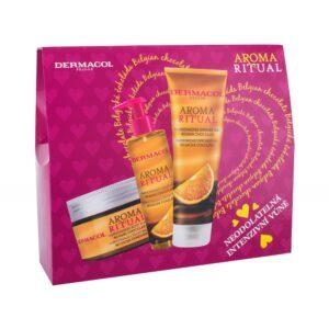 Dermacol Aroma Ritual Belgian Chocolate (Duššigeel, naistele, 250ml) KOMPLEKT!