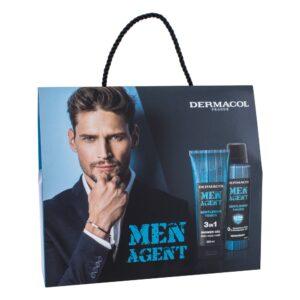 Dermacol Men Agent Gentleman Touch (Duššigeel, meestele, 250ml) KOMPLEKT!