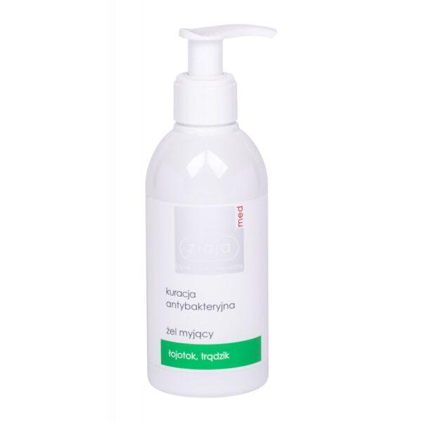 Ziaja Med Antibacterial Treatment Cleansing Gel (Duššigeel, unisex, 200ml)