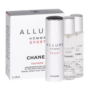 Chanel Allure Homme Sport Cologne (Kölnivesi, meestele, 3x20ml)