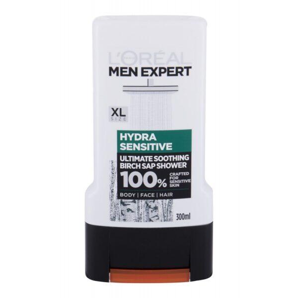 L´Oréal Paris Men Expert Hydra Sensitive (Duššigeel, meestele, 300ml)