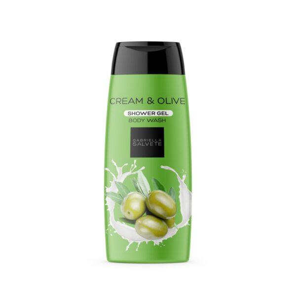Gabriella Salvete Shower Gel Cream & Olive (Duššigeel, naistele, 250ml)