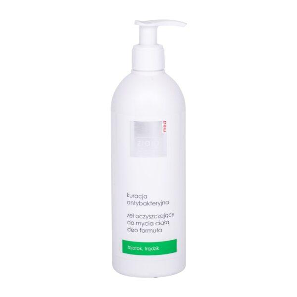 Ziaja Med Antibacterial Treatment Cleansing Gel (Duššigeel, unisex, 400ml)