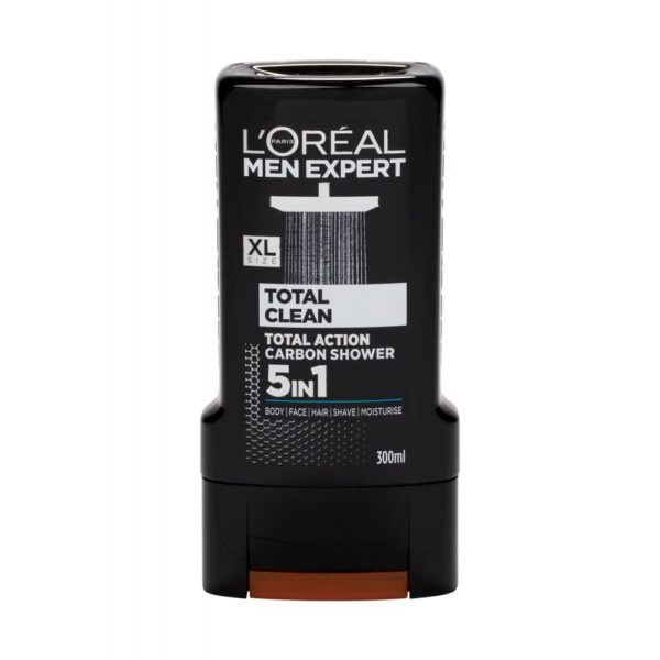 L´Oréal Paris Men Expert Total Clean (Duššigeel, meestele, 300ml)